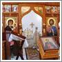 Бобренев Рождественский монастырь: Вид с насыпи