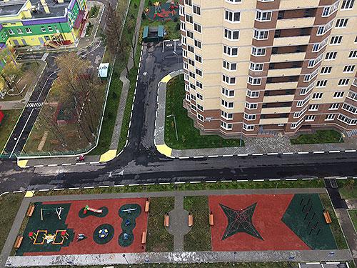 Новый микрорайон в Краснознаменске, ЖК Космическая Гавань