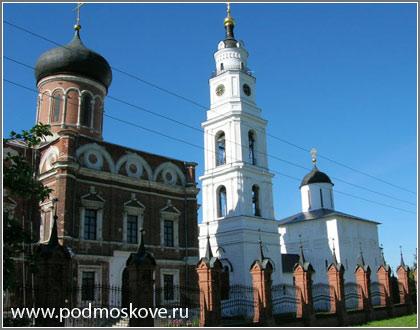 Вид Волоколамского кремля