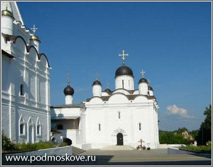 Вид монастыря