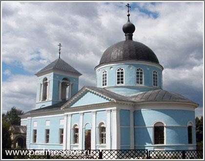 Вид Покровской церкви
