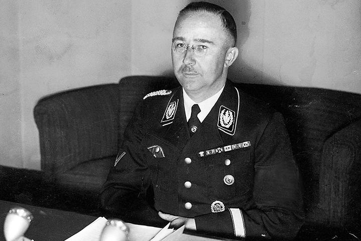 В военном архиве нашли дневники Генриха Гиммлера