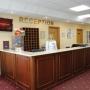 Центр спорта и отдыха Демино: Холл в отеле