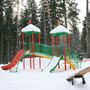 Пансионат Парус: Детская площадка