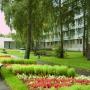 Гостиница Дубна: Территория гостиницы