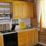 База отдыха Медведица: Кухня в коттедже
