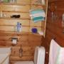 База отдыха Медведица: Ванная в коттедже