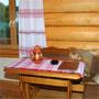 Туркомплекс Ярославна: Дом охотника, гостиная
