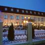 Отель Бережки Холл: Ночной вид отеля
