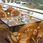Мини-отель Белый Берег: Летняя веранда