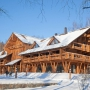 Эко-отель Романов Лес: Гостиница зимой