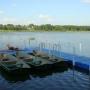 Санаторий-курорт Лесное озеро: Причал на водохранилище