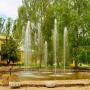 Санаторий-курорт Лесное озеро: Фонтан на территории