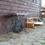 База отдыха Усадьба  Кузнецово: Во дворике Усадьбы