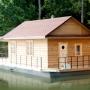 Гостиница Берта Спа Вилладж:  Баня на плаву