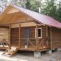 База отдыха Аист: Деревянный домик