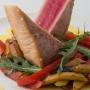 Клубный отель Петрухино Клуб: Блюдо в ресторане