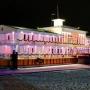 Морской клуб Адмирал: Флотель, вечерний вид
