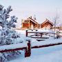 Гостиница Горячие Ключи: Зима на территории