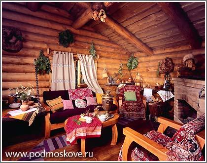 Отдых в подмосковье в деревянных домах